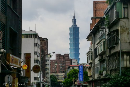 Typical view in Taipei
