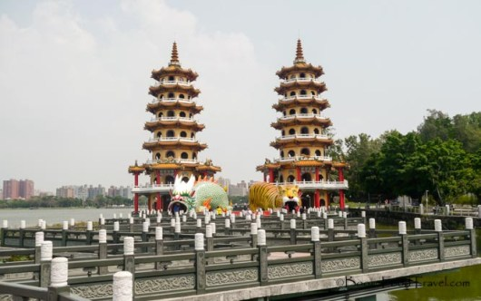 Dragon & Tiger Pagodas