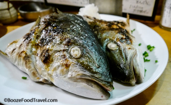 shimbashi tuna head