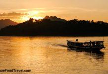Mekong Sunset boat