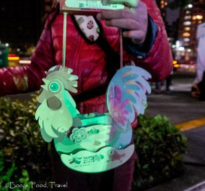 rooster lantern