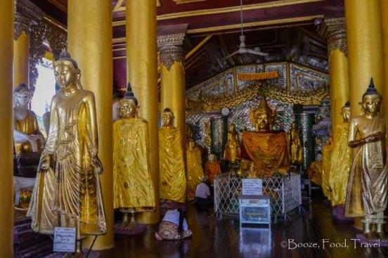shwedagon pagoda buddha