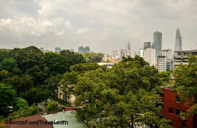 Saigon hotel view