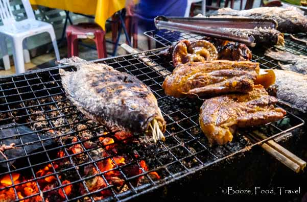 grilled fish laos