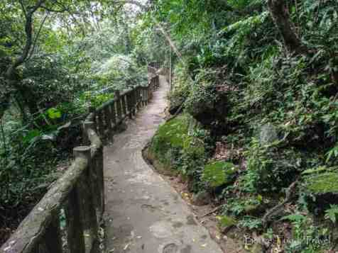hiking trail taipei