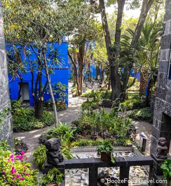 frida kahlo museum garden