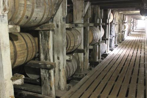 Rack House at Buffalo Trace, Frankfort, Kentucky, courtesy David Hammond