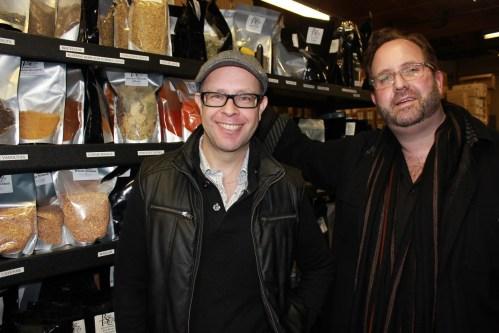 Adam Seger and Rod Markus/Photo: David Hammond