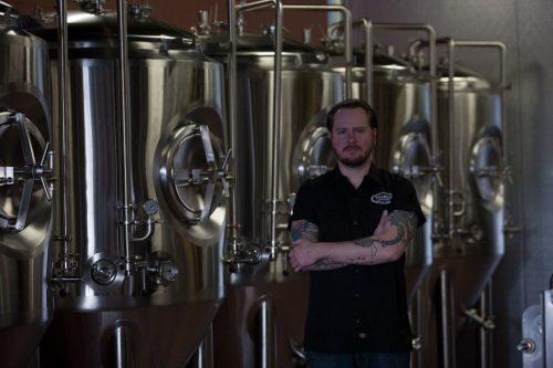 David Kerns, head brewer at Tribes Beer Company/Photo: Erika Ball