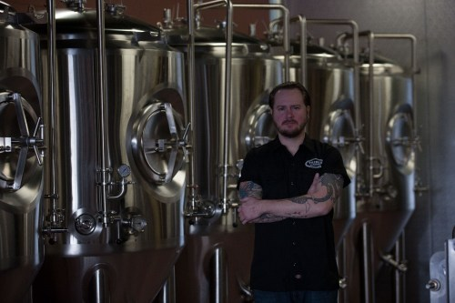 David Kerns, head brewer at Tribes Beer Company/Photo: Erika Ball