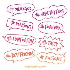 Hashtags von Pinterest Ads