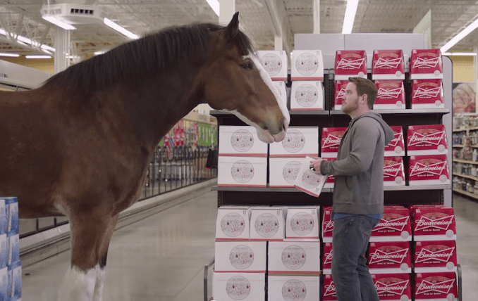 Budweiser Clydesdale Super Bowl Commercial