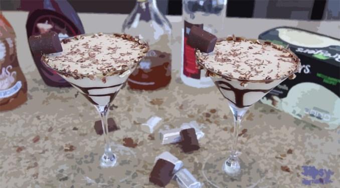 Hershey Nugget Martini