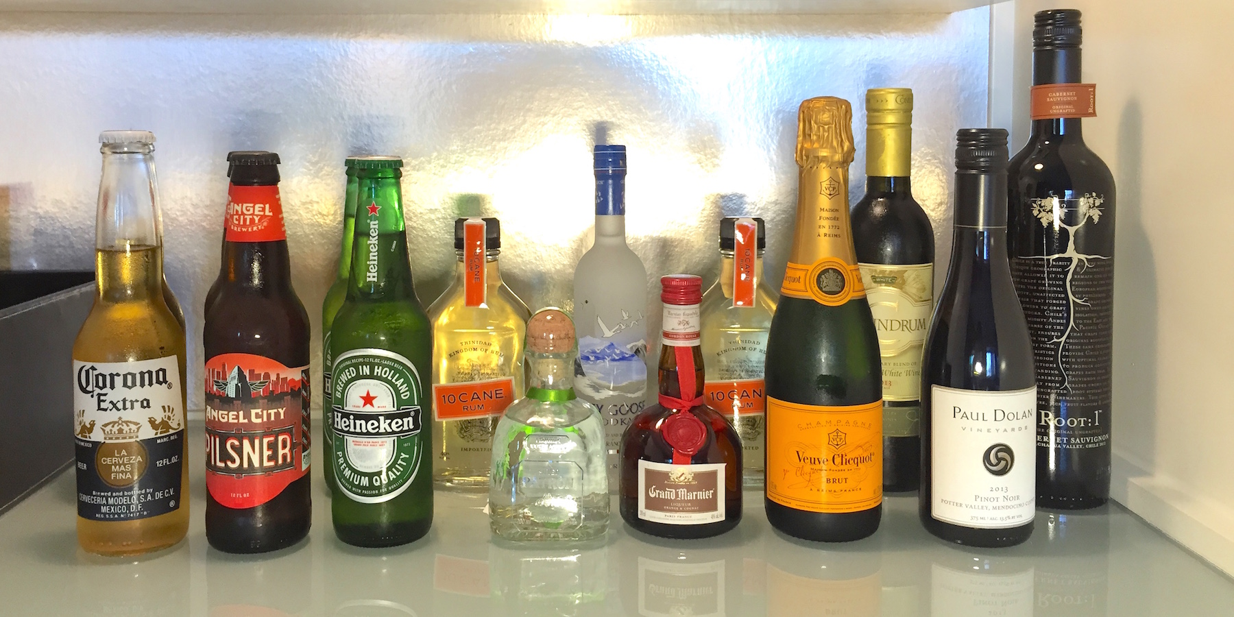 W LA Mini Bar Booze