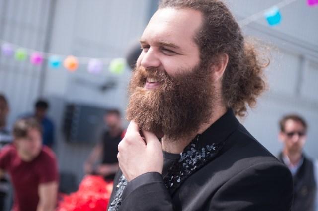 Harley Morenstein Shaves Beard Schick