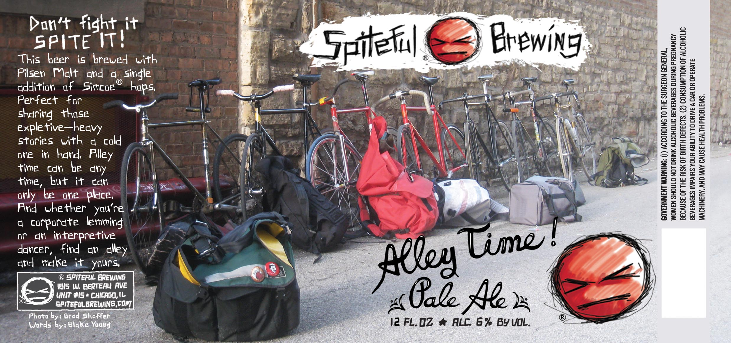 spitefull alley time pale ale