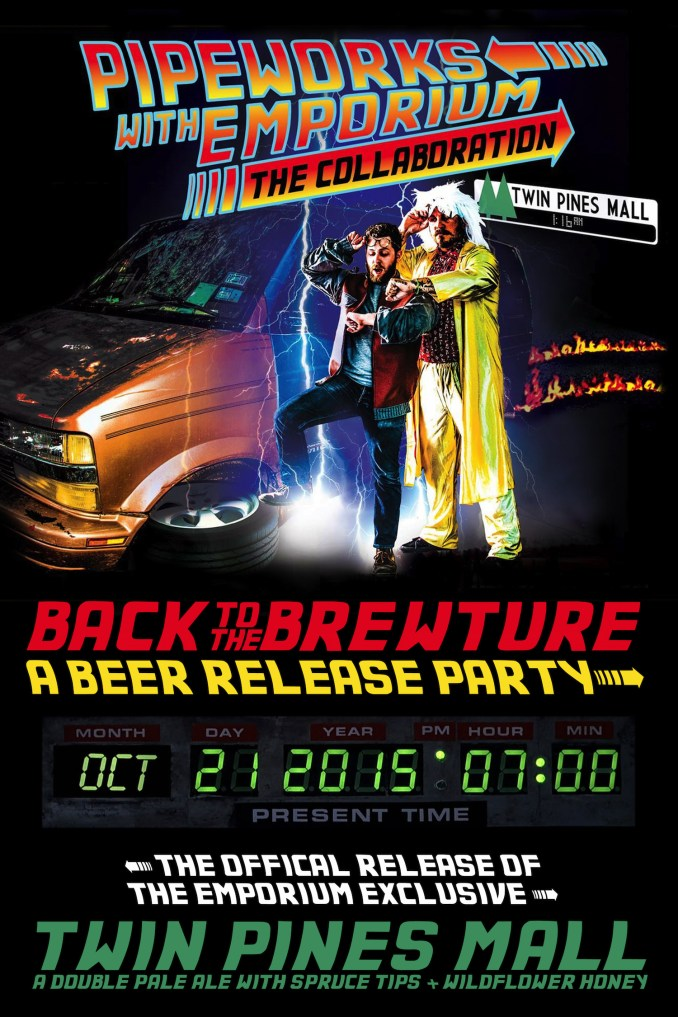 back to the future beer release
