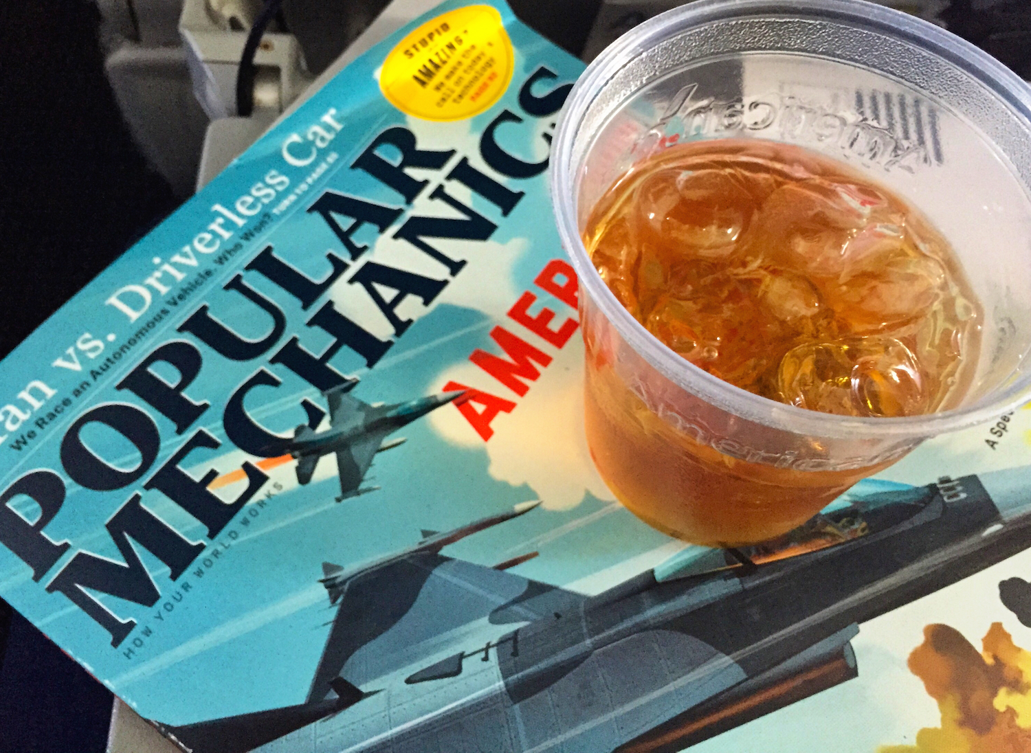 American Airlines Whiskey