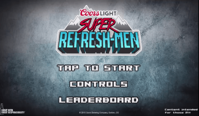 Coors Light Super RefreshMen