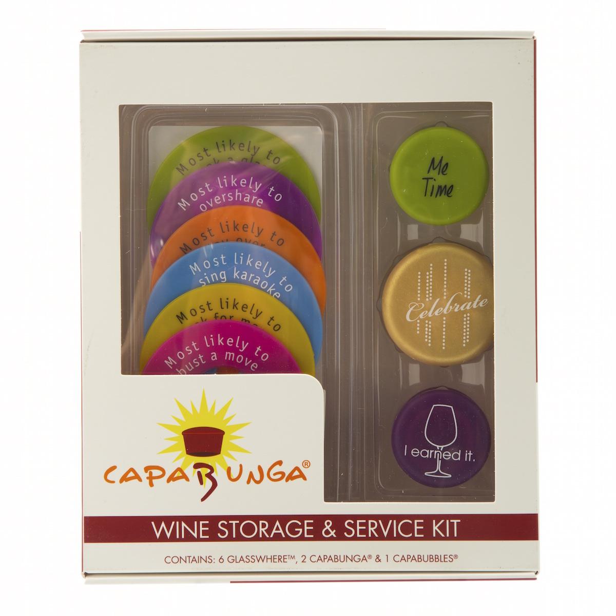 capabunga wine storage & service kit