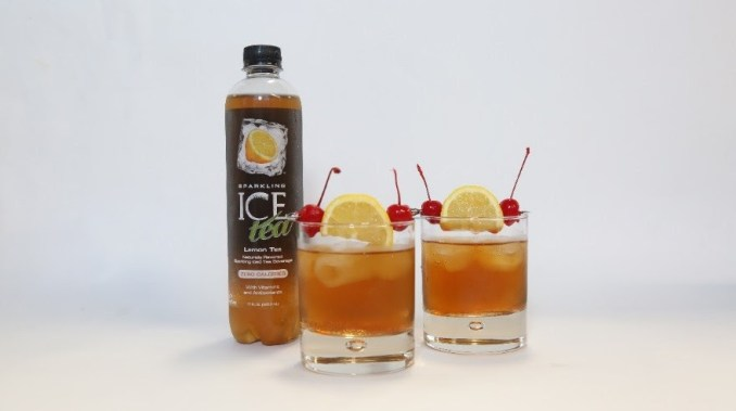 Sparkling Whiskey Sour