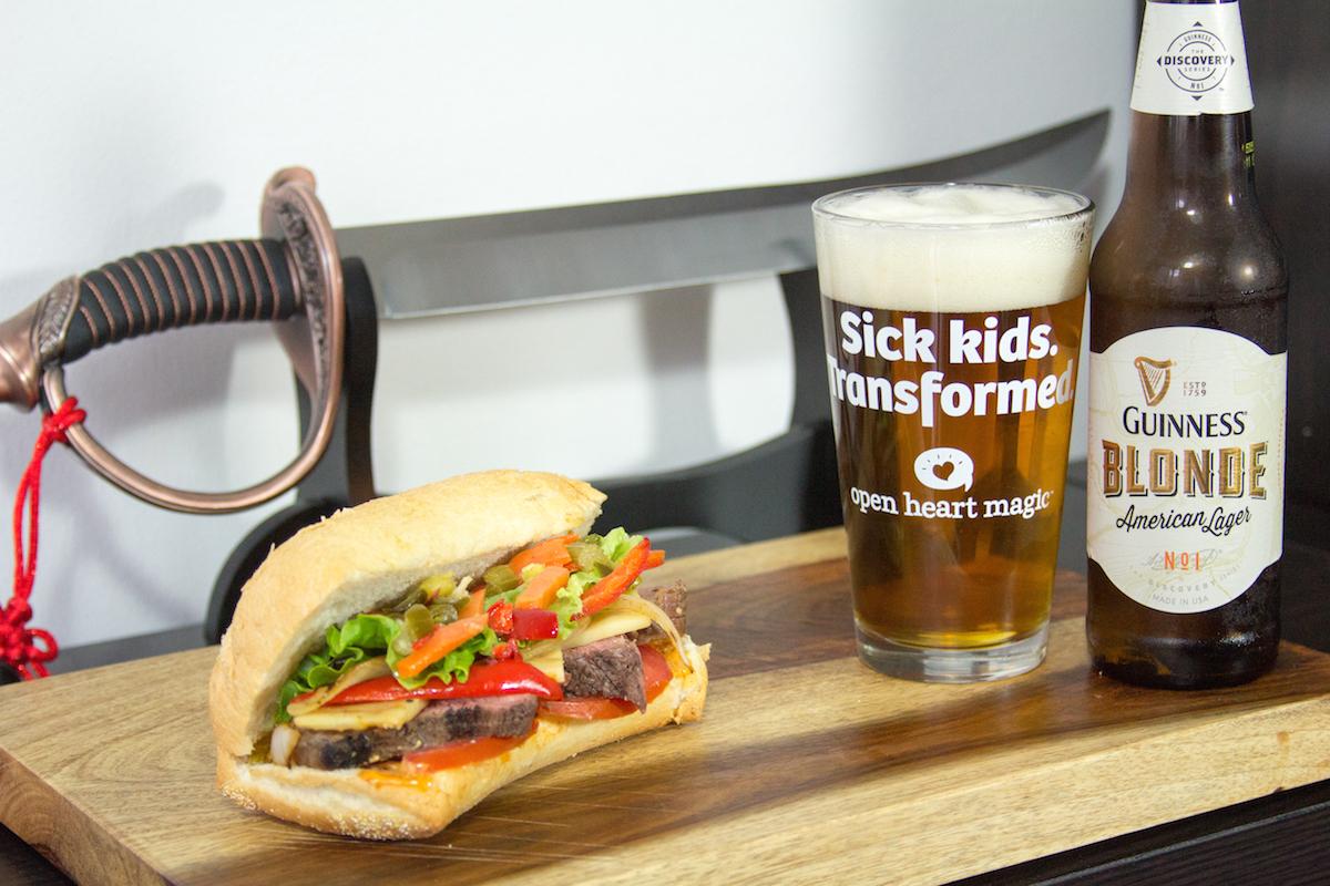 Guinness Steak Sandwich