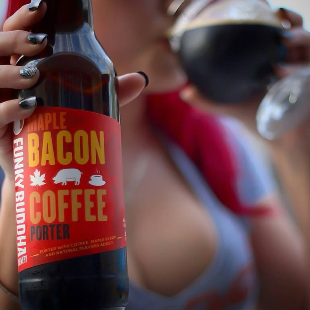 Maple Bacon Coffee Porter Funky Buddha