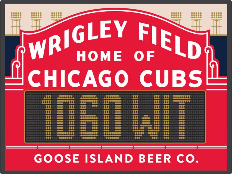 Wrigley Field Beer – Goose Island 1060 Wit Logo