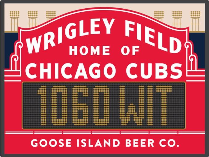 Wrigley Field Beer - Goose Island 1060 Wit Logo