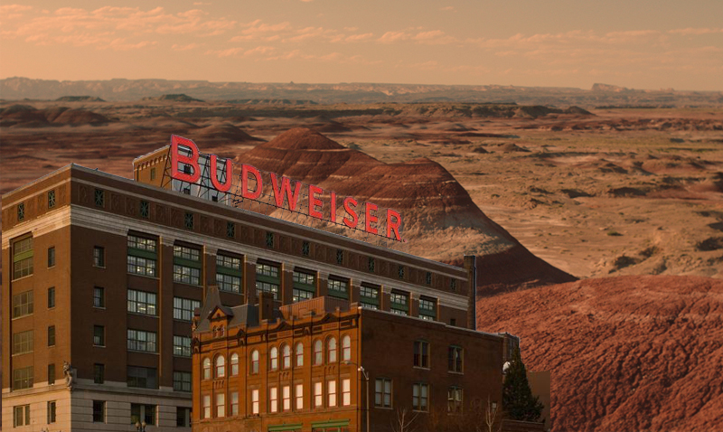 Budweiser on Mars is the Next Big Thing in Beer