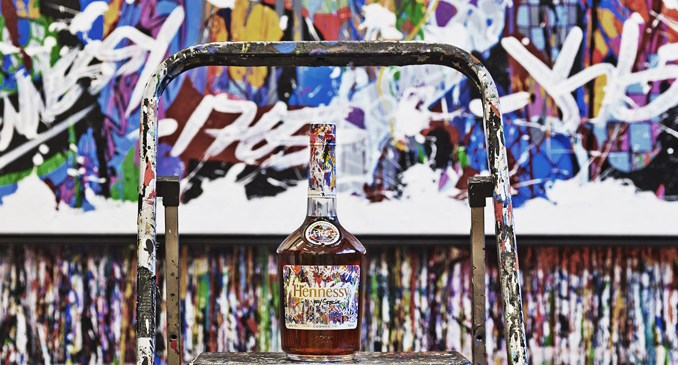 Hennessy x JonOne