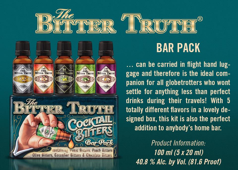 bitter truth cocktail bitters bar pack