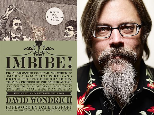 David Wondrich Imbibe! book