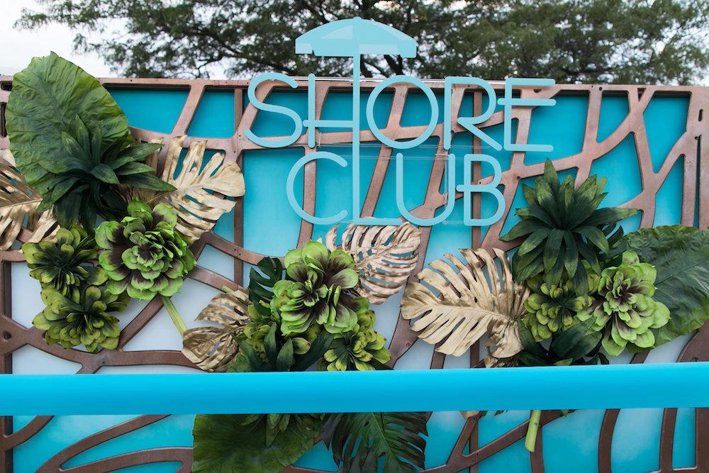 Shore Club Wall