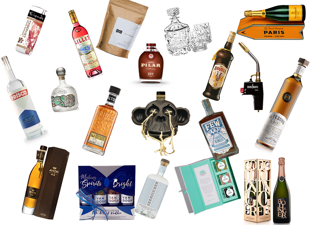 awesome grab bag alcohol gifts