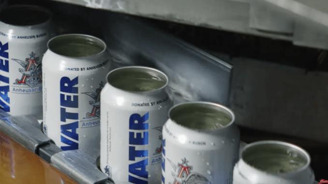 budweiser water