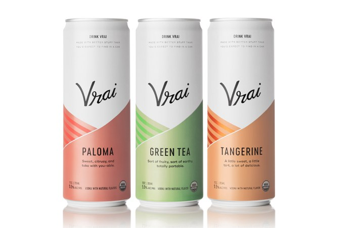 vrai canned cocktails