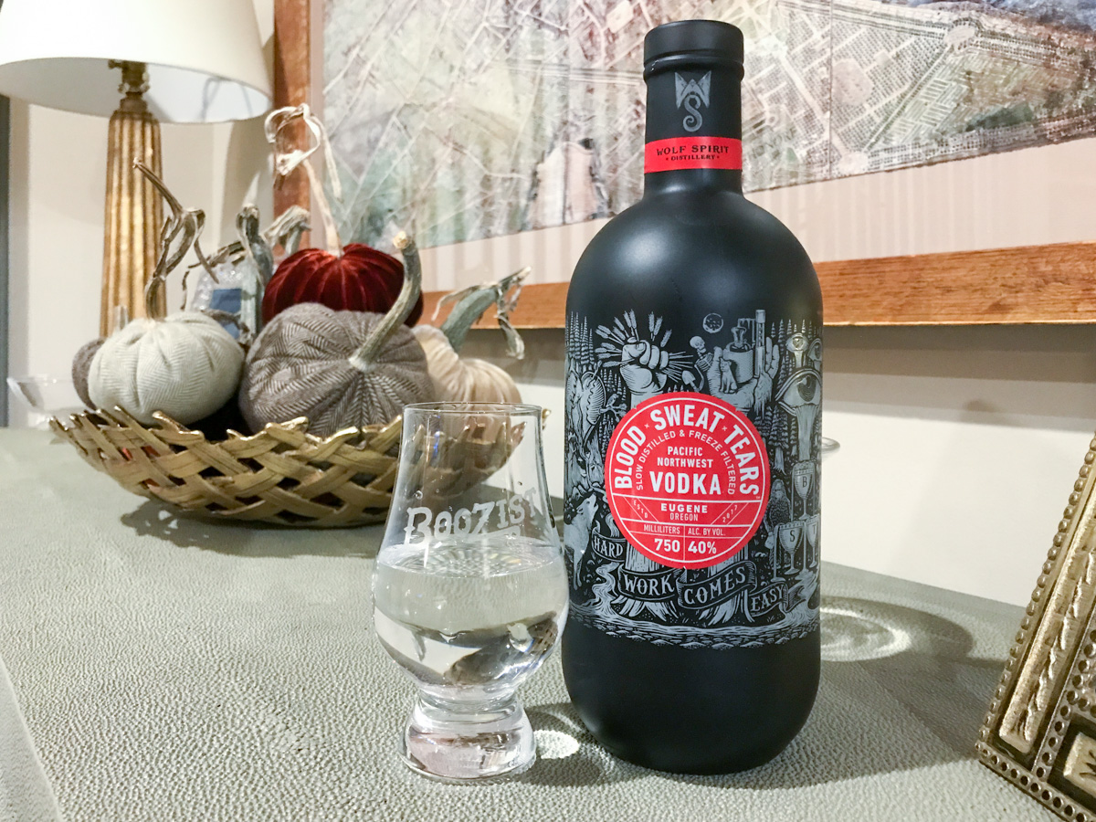 Wolf Spirit unleashes vodka made of BloodxSweatxTears