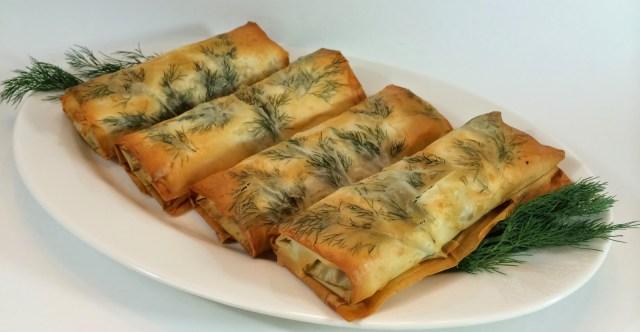 Greek Phyllo Wraps