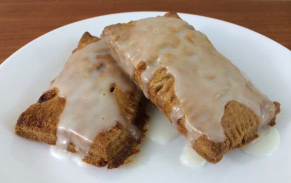 Rye-Pastry Pop-Tarts with Cherry Amaretto Filling and Almond Glaze