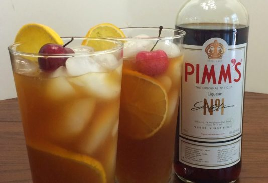 Perfect Pimm's Punch