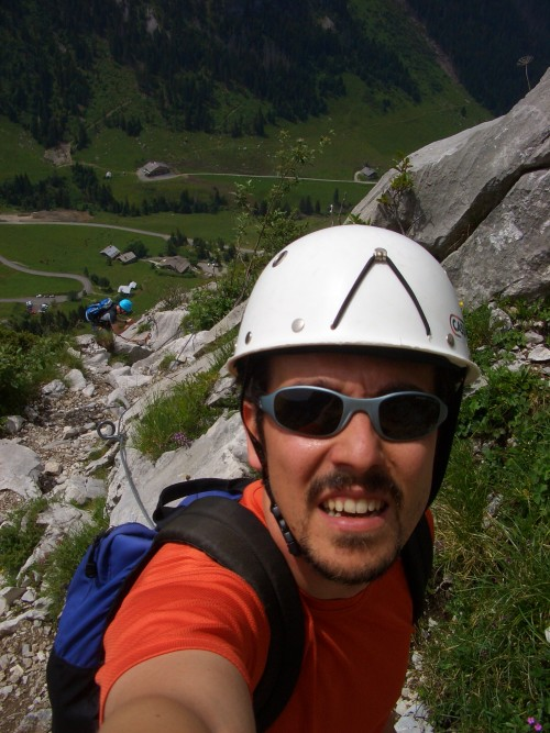 2007-06-30 Ferrata Colle Aravis (10)
