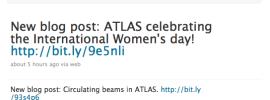Il CERN usa Twitter, ma mica solo lui