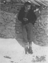 Sandro Delmastro al Monte Thabor