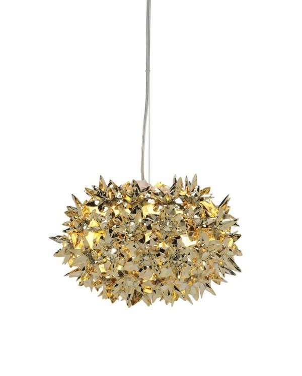 Hängeleuchte Bloom in Gold/Bronze/Kupfer 3