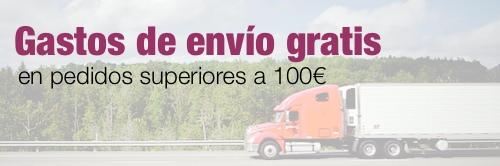 Envío gratis en pedidos superiores a 100€