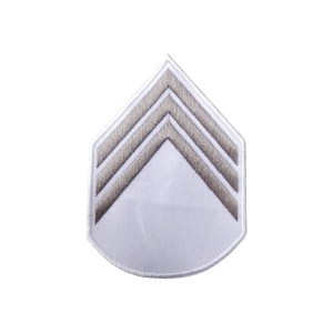 Divisa 3º Sargento, Branca com Cinza