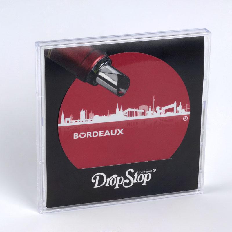 drop stop skyline bordeaux rouge