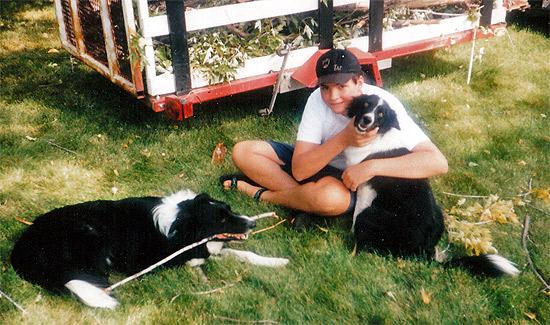 Black Jack, Bonnie Belle, and Me on September 1994