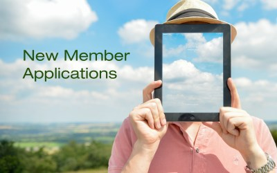 New Member Applications, August 2018